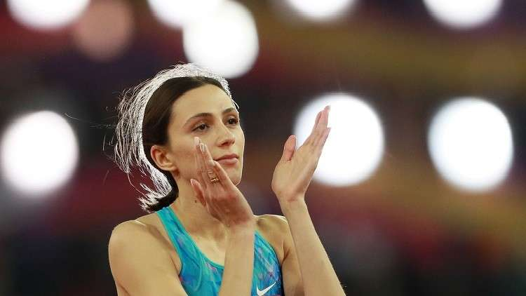 السماح للروسية لاسيتسكيني بالمشاركة في المنافسات الدولية