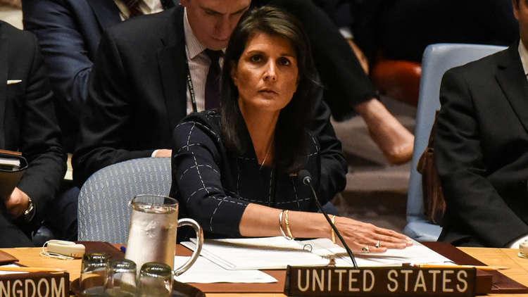 نيكي هايلي: محمود عباس أهان الرئيس الأمريكي ورفض دور واشنطن في عملية السلام