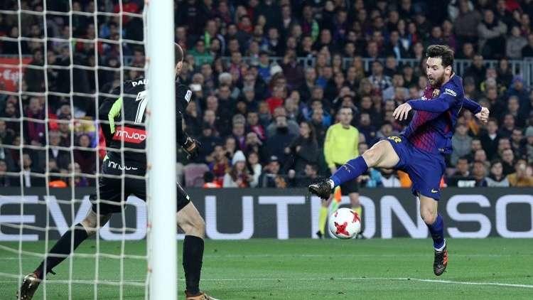 برشلونة يكسب