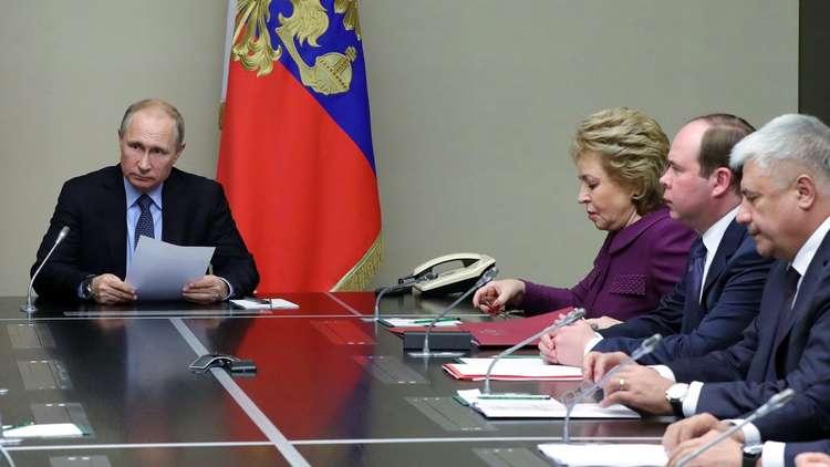 بوتين يبحث في الكرملين مؤتمر سوتشي حول سوريا والوضع في عفرين