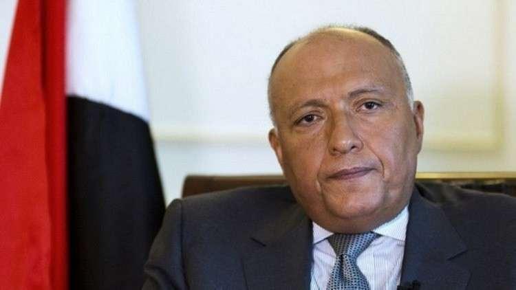 سامح شكري: موقف مصر حازم في مفاوضات النهضة وسفير السودان سيعود قريبا