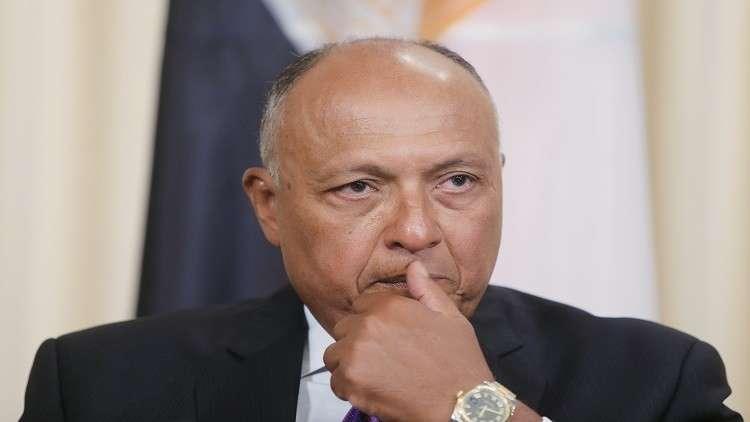 سامح شكري يعلق على إمكانية دخول مصر في حرب مع دول أخرى