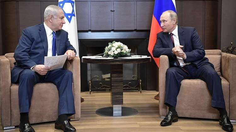 نتنياهو: سأبحث مع بوتين تفعيل التنسيق العسكري حول سوريا