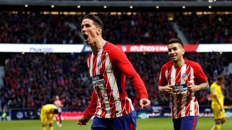 أتلتيكو مدريد يكرم ضيفه لاس بالماس بثلاثية (فيديو)