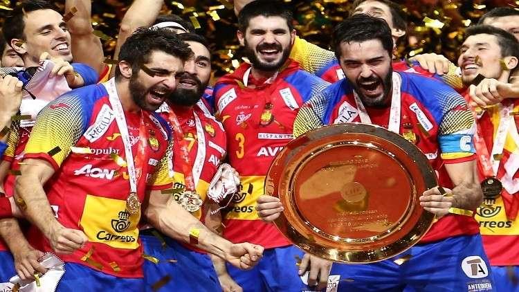 إسبانيا تتوّج ببطولة أمم أوروبا لكرة اليد لأول مرة في تاريخها
