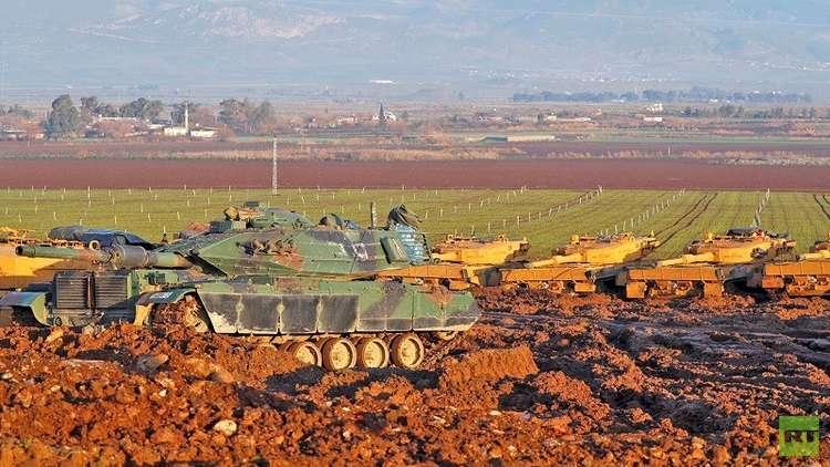الجيش التركي يعلن حصيلة قتلى المسلحين منذ انطلاق عملية