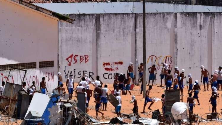 10 قتلى جراء شجار داخل سجن في البرازيل