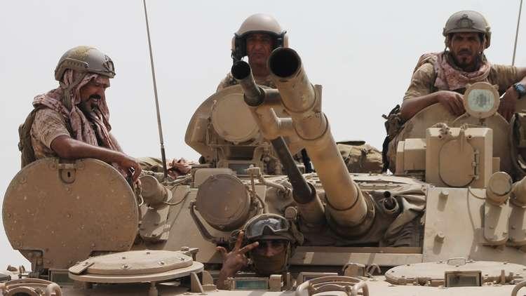 التحالف العربي يطالب الأطراف في عدن بالتهدئة والتركيز على الحوثيين