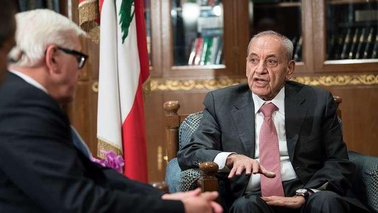 نبيه بري: لن أسمح بتهديد استقرار ووحدة لبنان