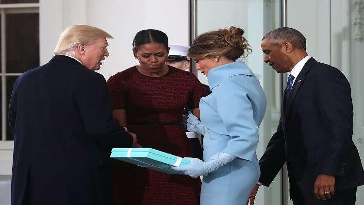 ماذا كانت هدية ميلانيا ترامب لميشيل أوباما؟