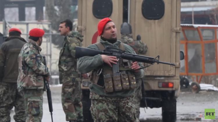 المخابرات الأفغانية تنشر صورة أحد مهاجمي الأكاديمية العسكرية في كابل