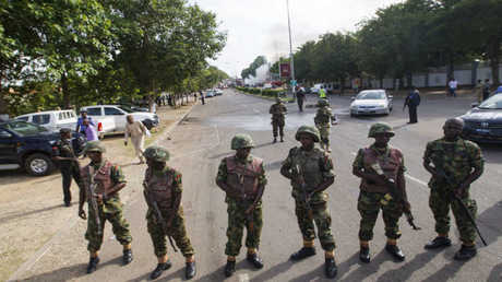 أرشيف -أفراد من الجيش النيجيري