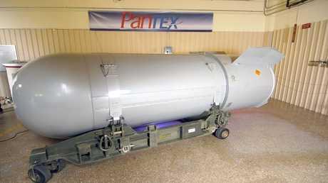أرشيف - قنبلة B53 النووية الأمريكية