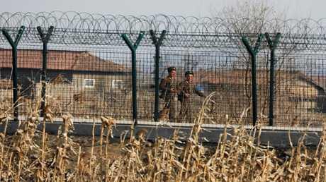 الحدود بين الكوريتين الشمالية والجنوبية