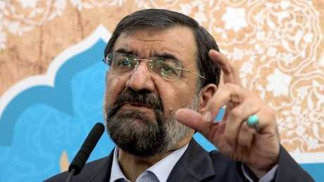 رئيس مجمع تشخيص مصلحة النظام في إيران محسن رضائي