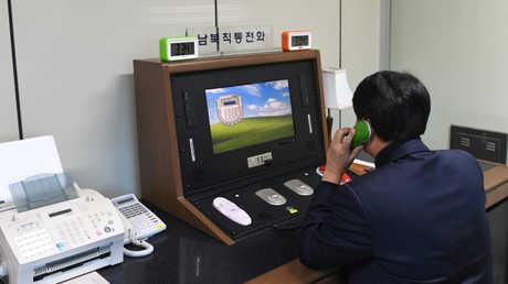أول اتصال عبر الخط الساخن بين الكوريتين خلال عامين