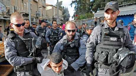 عناصر من جهاز الأمن الداخلي الإسرائيلي