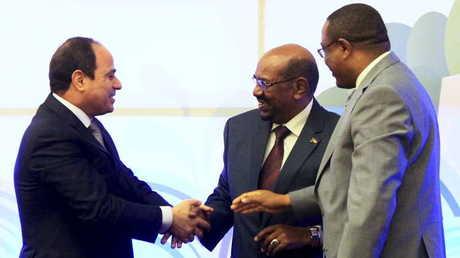 رؤساء مصر والسودان وإثيوبيا