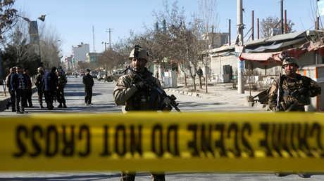 القوات الأفغانية في كابل