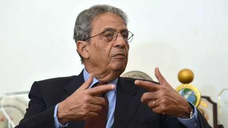 الأمين العام الأسبق لجامعة الدول العربية، عمرو موسى