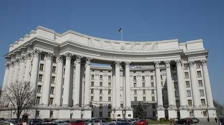 مبنى الخارجية الأوكرانية كييف - أرشيف