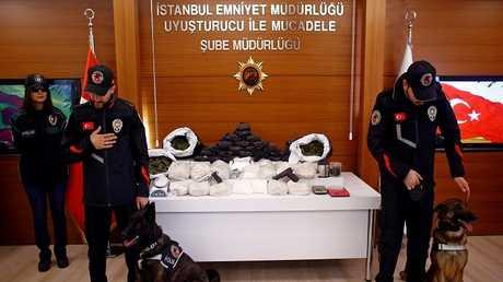 شرطة مكافحة المخدرات التركية