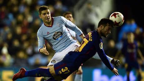 برشلونة يبدأ العام الجديد بالتعادل مع سلتافيغو