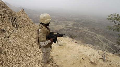 الحدود السعودية مع اليمن في جازان