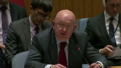 المندوب الروسي لدى مجلس الأمن، فاسيلي نيبينزيا