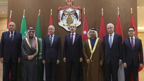 وزراء 6 دول عربية في عمان من أجل قضية القدس