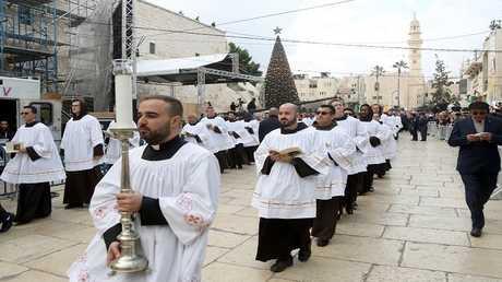 احتفالات في مدينة بيت لحم بمناسبة عيد الميلاد