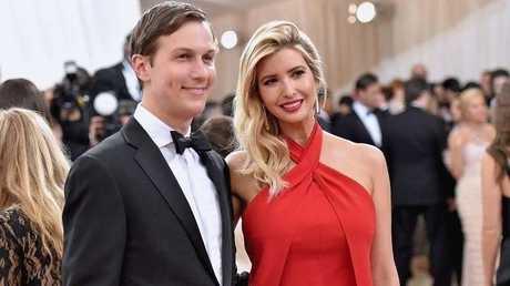 جاريد كوشنر وزوجته إيفانكا ترامب