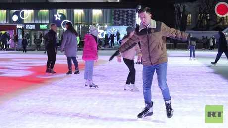 الروس والتزحلق على الجليد.. قصة عشق لا ينتهي