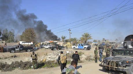 هجوم سابق في محافظة ديالى