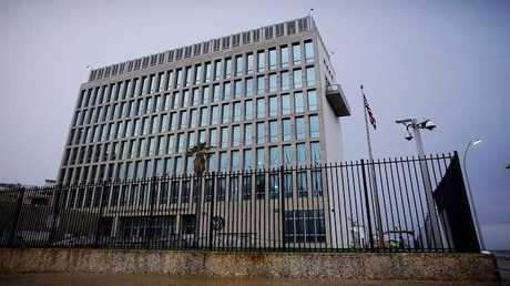 مبنى السفارة الأمريكية في هافانا
