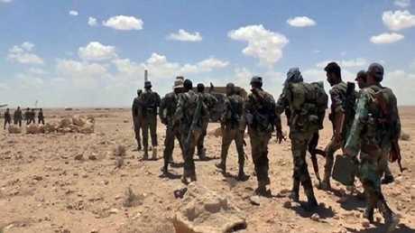 الجيش السوري في ريف إدلب الجنوبي