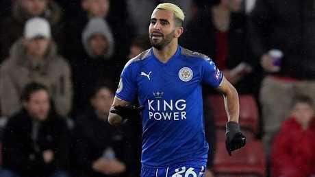 مدرب ليستر يحرم الجزائري محرز من انتزاع لقب أغلى لاعب عربي