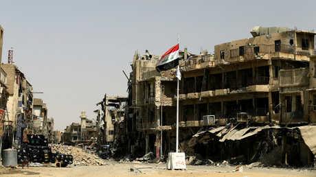 الدمار في قلب الموصل