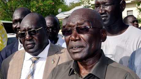 رئيس الأركان السابق الجنرال بول مالونغ في جنوب السودان
