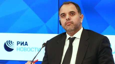 السفير القطري لدى روسيا فهد بن محمد العطية