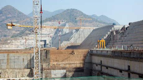 """أعمال بناء """"سد النهضة"""" في إثيوبيا"""