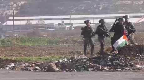 اعتقال 17 فلسطينيا في الضفة الغربية