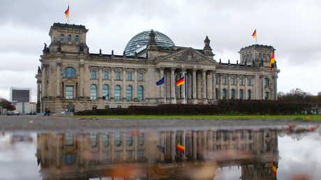 مبنى البوندستاغ في برلين