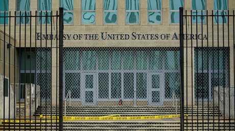 مبنى سفارة الولايات المتحدة في هافانا كوبا