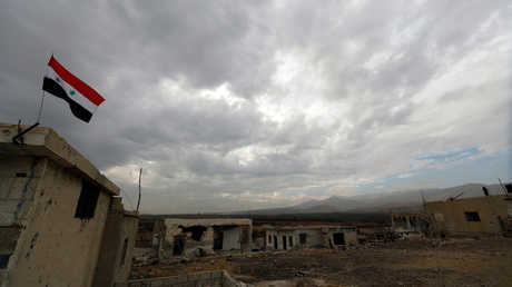 إحدى مناطق النزاع في سوريا