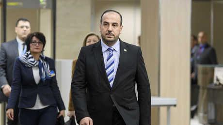 كبير مفاوضي المعارضة السورية نصر الحريري - 29/11/2017