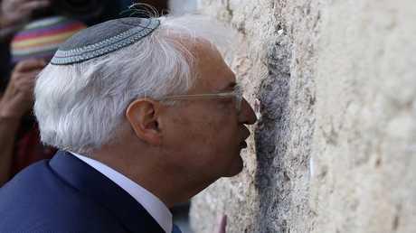 السفير الأمريكي لدى إسرائيل، ديفيد فريدمان (صورة أرشيفية)