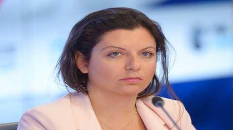 """مارغاريتا سيمونيان رئيسة تحرير RT و""""سبوتنيك"""""""