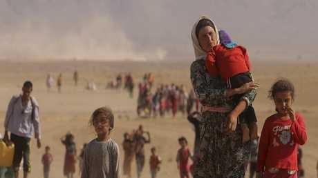 النازحون في إقليم كردستان العراق - أرشيف