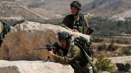 عناصر من الجيش الإسرائيلي في الضفة الغربية